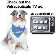 Check out our Vetraceuticals TV ad as seen on Animal Planet